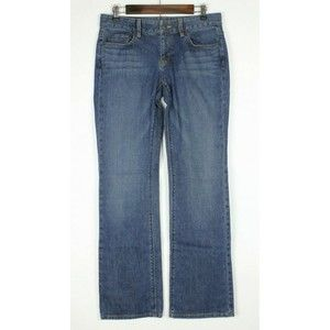 LOFT Ann Taylor Jeans Bootcut Stretch Medium Wash